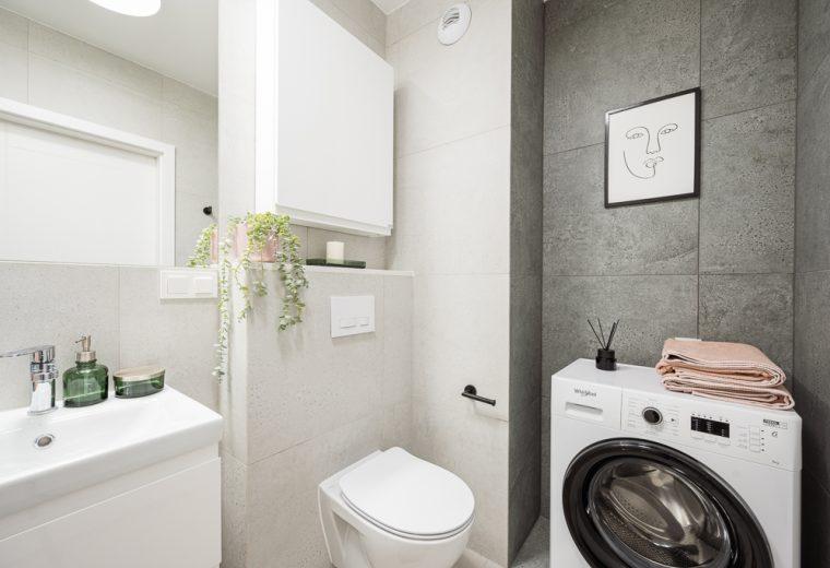 Wzorcowe mieszkanie wykończone w stylu Comfort modern