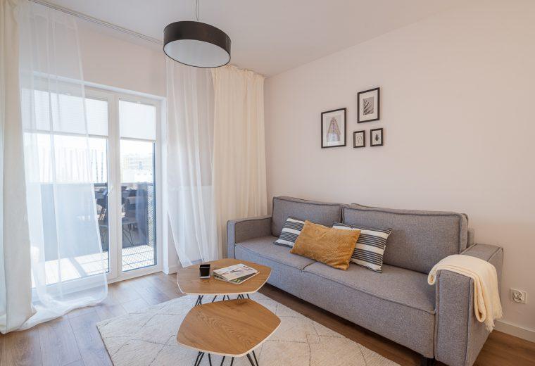 Wzorcowe mieszkanie wykończone w stylu Comfort style
